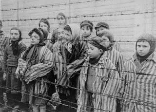 Niños judios de Birkenau
