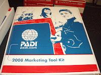 PADI marketing kit
