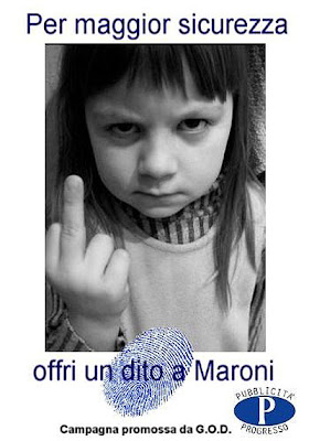 no alla schedatura dei bambini rom