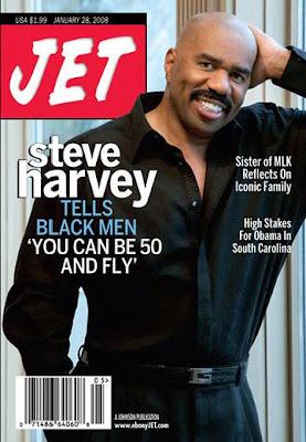 Steve Harvey's New Look!  Where's that famous hair line   aade7a6735c9
