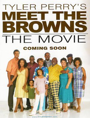 Video tyler perry is back with new film quot meet the browns quot starring