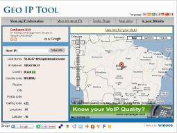 Geo IP Tool