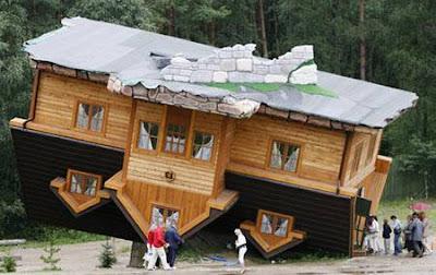 عکس ساختمان برعکس - ساختمان وارونه