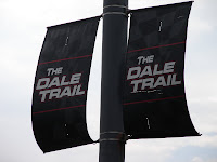 Dale Trail banners before they were taken down