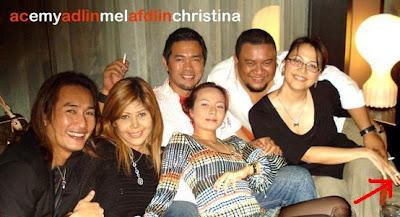 Afdlin Shauki And Wife Is Smoking Couple Akademi Fantasia Weblog