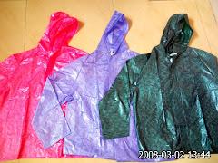 warna jas hujan