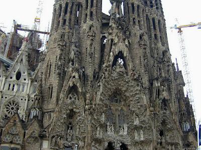 Antoni Gaudí: Templo Expiatorio de la Sagrada Familia (4/6)