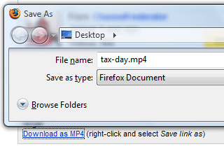 Download YouTube Videos as MP4 Files | Twitersing's Blog