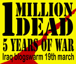 Blogswarm Iraq War 5 Years
