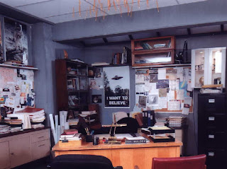 X-Files Fox Mulder Office