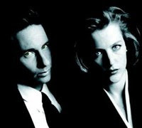 X-Files Mulder and Scully