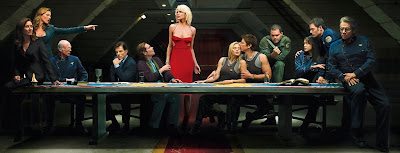 Battlestar Galactica Season 4 - Biblical reference to the last supper