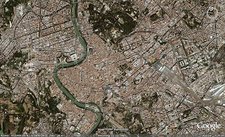 Google Map of Rome, Italy