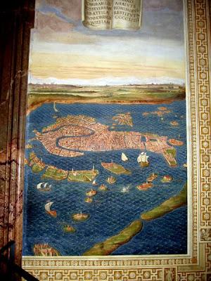 Vatican Museum - Map of Venice