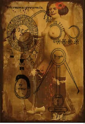 review of visual poetry and related forms of art over the centuries,