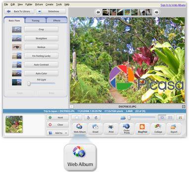 Picasa 2.6.0 build 36.19