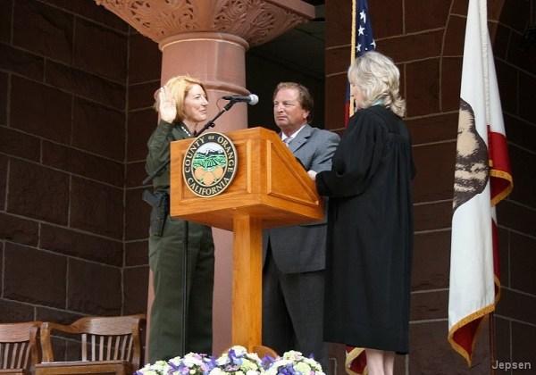 O.C. History Roundup: Sheriff Sandra Hutchens