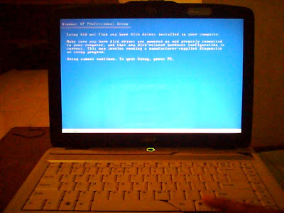 Windows XP and Acer Aspire 4520