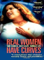 an analysis of real women have curves a movie directed by patricia cardoso Patricia cardoso is an award-winning latina director, writer and producer she has directed the water carrier, real women have curves, lies in plain sight, the air globes, meddling mom, ro, la clave, and el paseo de teresa.