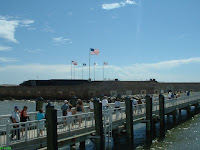 Bridge to Fort Sumter Charleston