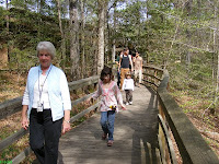 Congaree National Park boardwalk trail