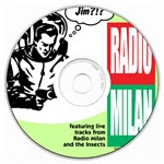 Audio CD of Insects and radio Milan recordings.