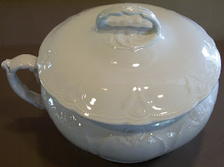 Royal Ironstone China Chamber Pot available at Sea Witch Antiques for $179. At sales I\u0027ve attended in years past I\u0027ve seen stark white pitchers ... & Today\u0027s Value of Antique Ironstone   Learn \u0026 Invest in Antiques Art ...
