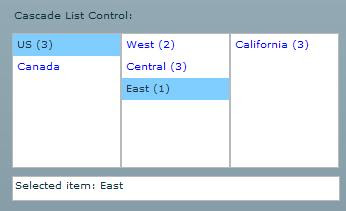 Cascade List Component