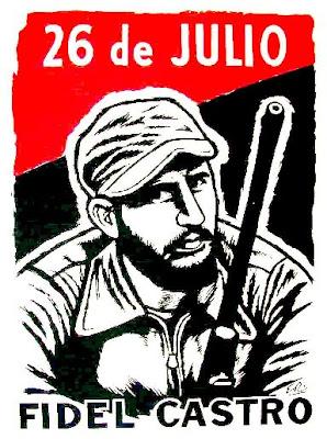 Fidel Castro - Lider del Movimiento 26 de Julio y Comandante en Jefe del Ejército Rebelde
