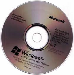 Windows XP 64 Bits Full SP2 (IE7 e MP11)