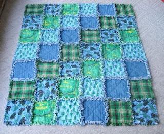 rag quilt complete