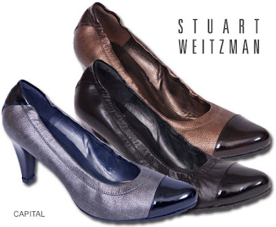 Stuart Weitzman Capital Pumps