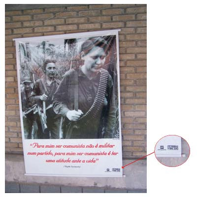 Cartaz sobre comunismo