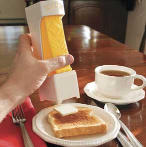 Another way to save two three minutes of your mornings.