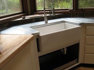 heavy metal works zinc kitchen counter top
