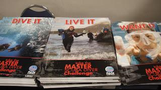 Master Scuba Diver Challenge posters