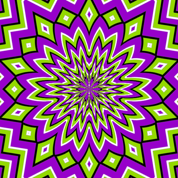 purple nurple optical illusion