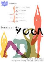 Cartel del Festival de Yoga de Aveiro 2007