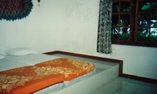 Room Type Gurita with Mattress on Step Floor