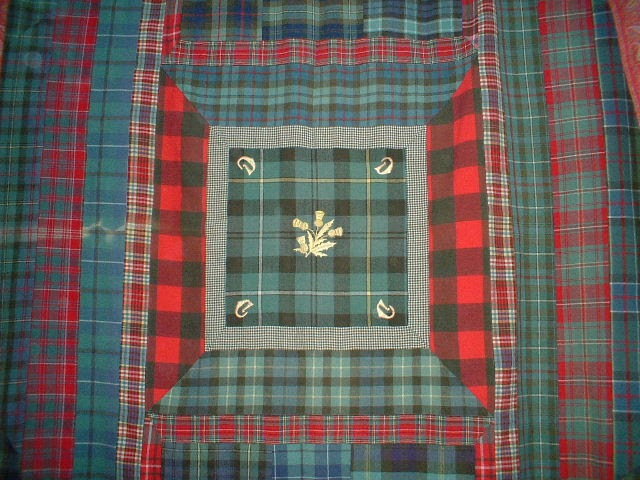 The Scottish Home A Tartan Quilt