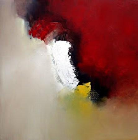 Abstraktes Gemälde, Landschaft