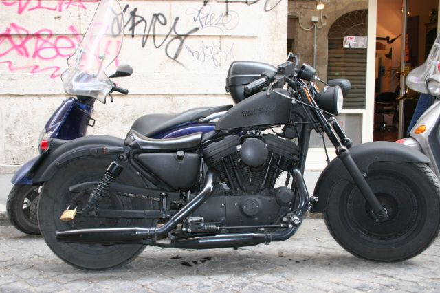 Crazy Harley Bike