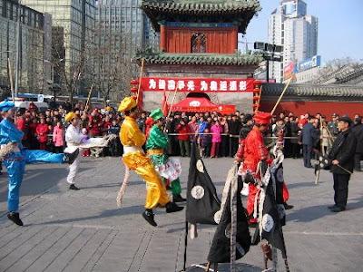 Temple Fair - Dancers