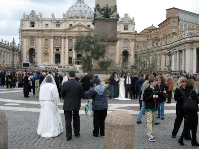 Photo-op at San Pietro