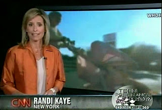 Randi Kaye CNN Rat Faced Dyejob Beady Orb Kike Ess Jewish Jew Vanguard News Network Forum