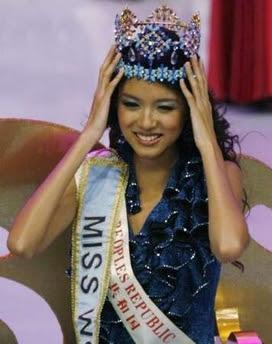 Zi Lin Zhang - Miss World 2007