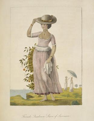 Female Quadroon, Slave of Surinam