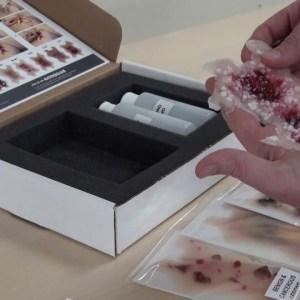 Kit de enfermedades de la piel en adultos mayores