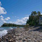 Grebe Lodge from shoreline_Sept-10