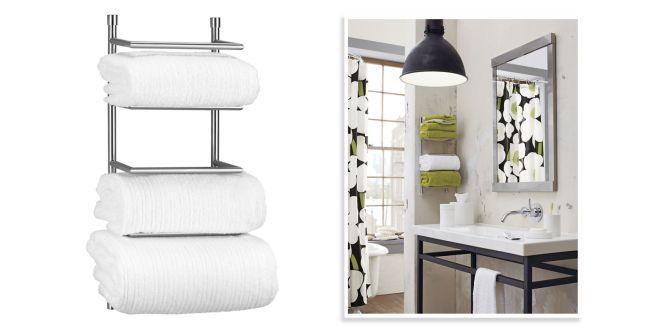 Wall Mounted Bathroom Magazine Holder - Bathroom Furniture Ideas